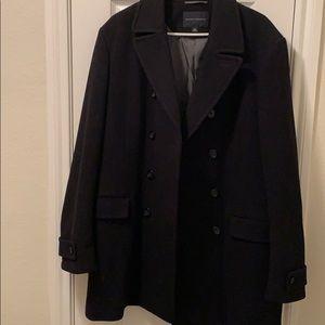 Banana Republic XL black trench coat